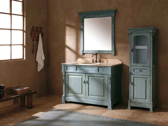 48 catania single bath vanity antique ocean for Bathroom vanities in san diego