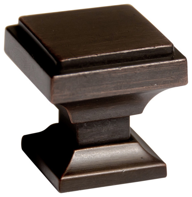 southern rubbed bronze square cabinet knobs