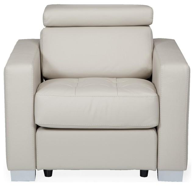 mauro fauteuil en cuir de buffle beige moderne fauteuil par alin a mobilier d co. Black Bedroom Furniture Sets. Home Design Ideas