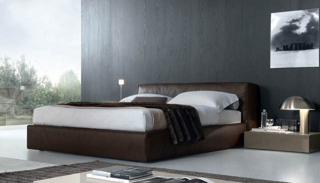 Mark bed contemporary bedroom other by calligaris for Mark v bedroom volume