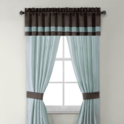 Willowbrook 84 Inch Window Curtain Panel Pair Contemporary Curtains By Bed Bath Beyond