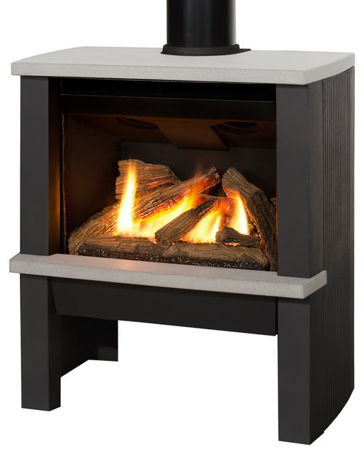Madrona Freestanding Series Fireplaces Contemporary Vancouver By Valor Fireplaces