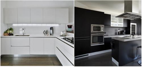 Cucina bianca o nera - Rivestimento cucina bianca ...