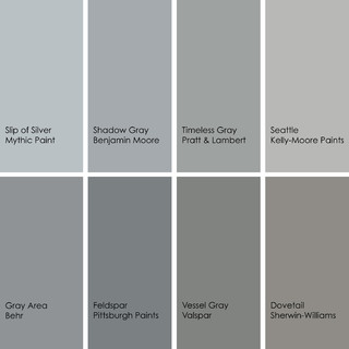 Bathed In Color When To Use Gray In The Bath