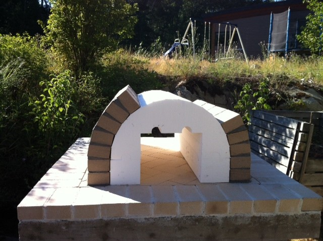 The Reimer Family Wood Fired Brick Pizza Oven In Bc Canada Traditional Seattle By