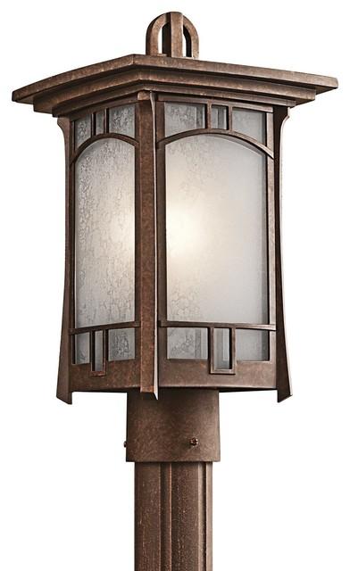 Kichler lighting soria arts crafts craftsman mission for Modern craftsman lighting