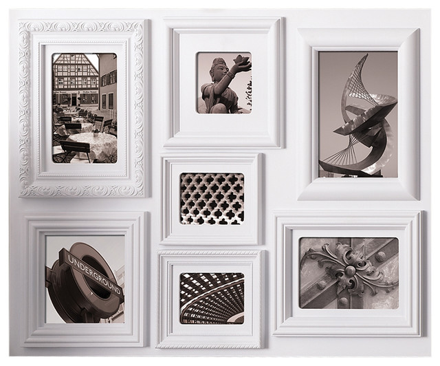 Fuse seven opening collage frame contemporain cadre for Cadre contemporain