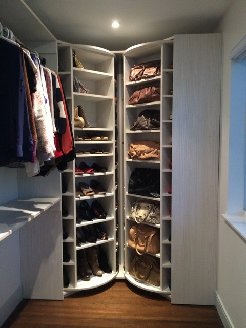 The Revolving Closet Organizer - Contemporary - Shoe Storage - Miami - by AmeriCabinets Express ...