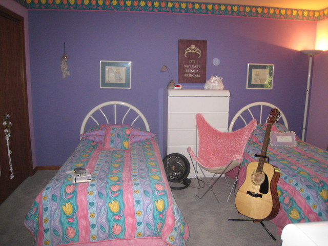 Little Girl To All Grown Up Bedroom Contemporary Chicago By Katie Drake With Walter E