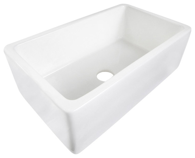 30 White Farmhouse Sink : White 30