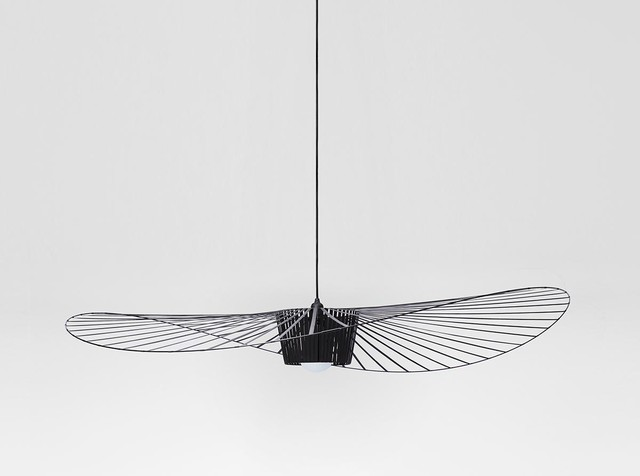 Luminaire bois suspension for Luminaire noir suspension