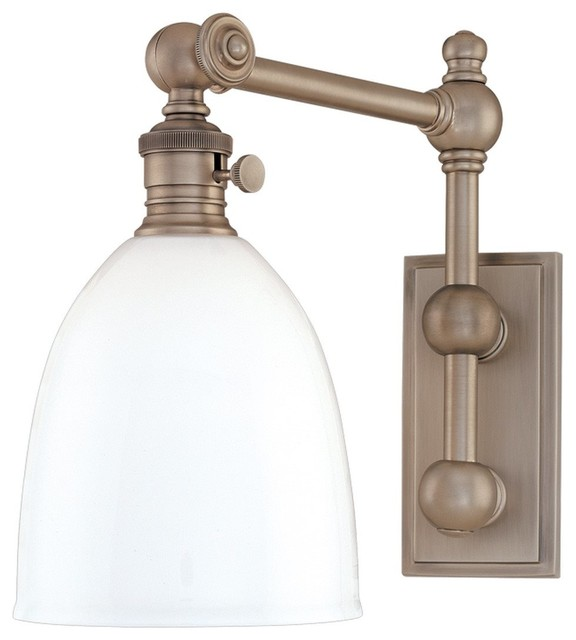 Wall Sconces Transitional : Hudson Valley Lighting Monroe Transitional Wall Sconce X-BGA-267 - Transitional - Wall Sconces ...