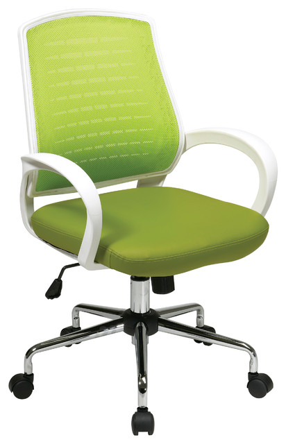 ave six rio collection office chair green executive