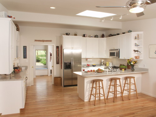 Before And After Of This Beautiful Open Concept Kitchen: Before & After: Open Concept Kitchen Makeover