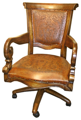 Sammy Rustic fice Chair Traditional fice Chairs