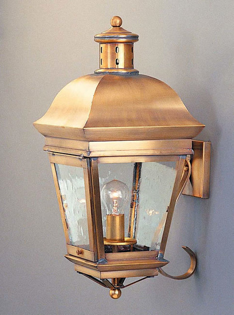 Exterior Wall Sconces Traditional : Old Georgia Wall Lantern - Traditional - Outdoor Wall Lights And Sconces - philadelphia - by ...