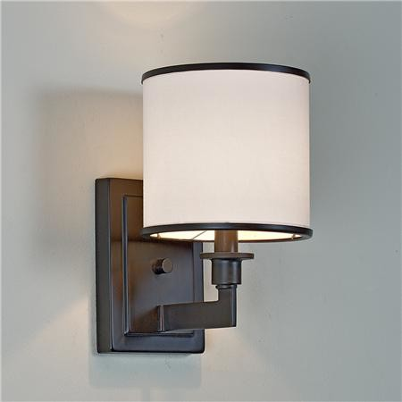 Vanity Lights Shades : Soft Contemporary Sconce - Contemporary - Bathroom Vanity Lighting - by Shades of Light
