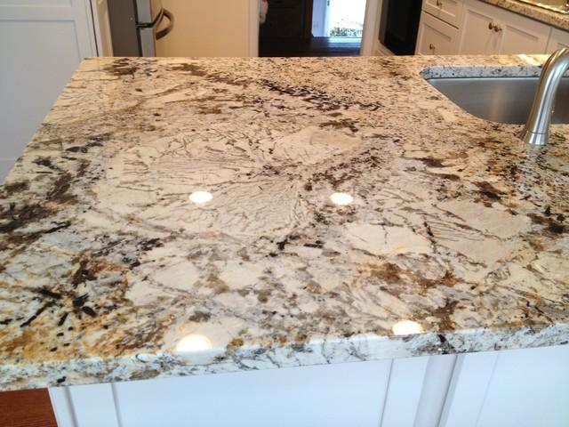 Granite Countertops Cost Lowes : ... -Deveron-Dove White w/Sensa Caroline Summer Granite traditional