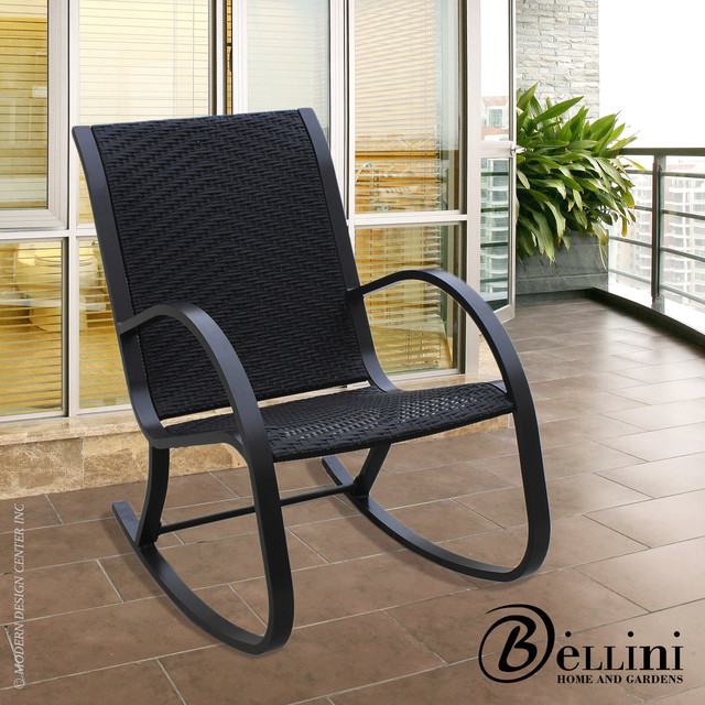 Bellini Bali Rocking Chair W Modern Outdoor Rocking Chairs los ang