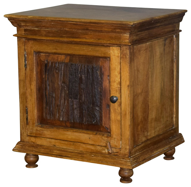 Kerala End Table Traditional Side Tables And End