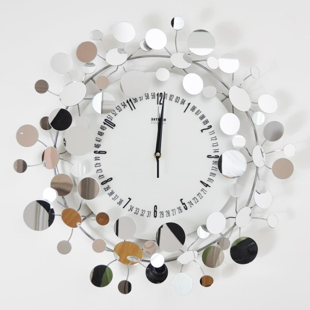 Buy Modern Wall Clocks Mirror Online Contemporary Heaven UK