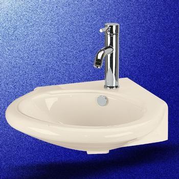 Wall Mount Corner Vessel Sink - Traditional - Bathroom Sinks - other ...