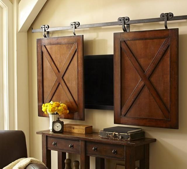 Diy Mirror Tv Cabinet: Rolling Cabinet Media Solution
