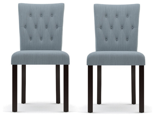 Espen 2 x dining chair modern dining chairs other for Modern dining chairs australia