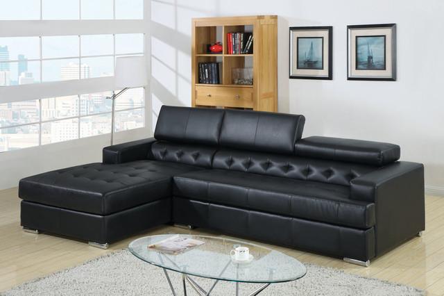 Leather Sectional Sofas Modern Corner Sofas New York By DealShopperz