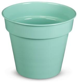 tess cache pot vert d 39 eau d27cm en m tal contemporain pot et jardini re d 39 ext rieur par. Black Bedroom Furniture Sets. Home Design Ideas