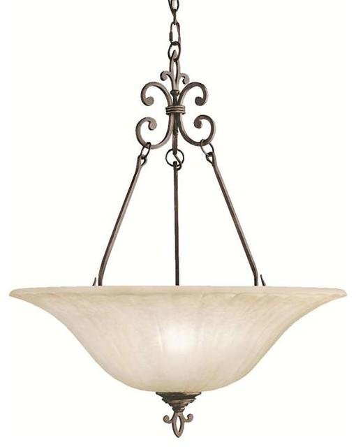 Kichler Lighting 3391CZ Wilton Traditional Pendant Light