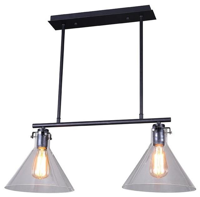 Retro island light industrial kitchen island lighting by lamps next - Industrial kitchen island lighting ...