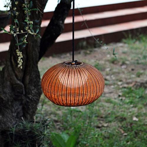 Garota Outdoor Plug In Pendant Light Modern Outdoor