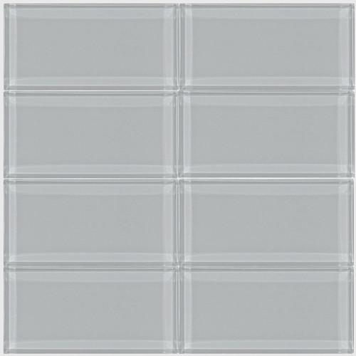 Smoke Gray Glass Subway Tile Modern Wall And Floor Tile By