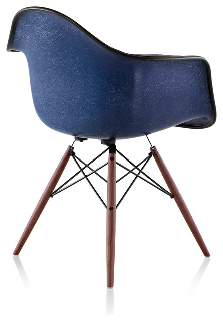 Eames Moulded Fibreglass Armchair Herman Miller  : contemporary dining chairs from www.houzz.com.au size 444 x 640 jpeg 47kB