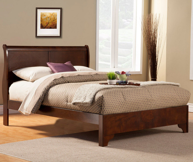 West Haven Cal King Low Footboard Sleigh Bed Modern Bedroom Furniture Sets