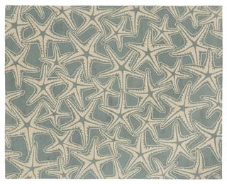Starfish Rug Beach Style Rugs Sacramento By