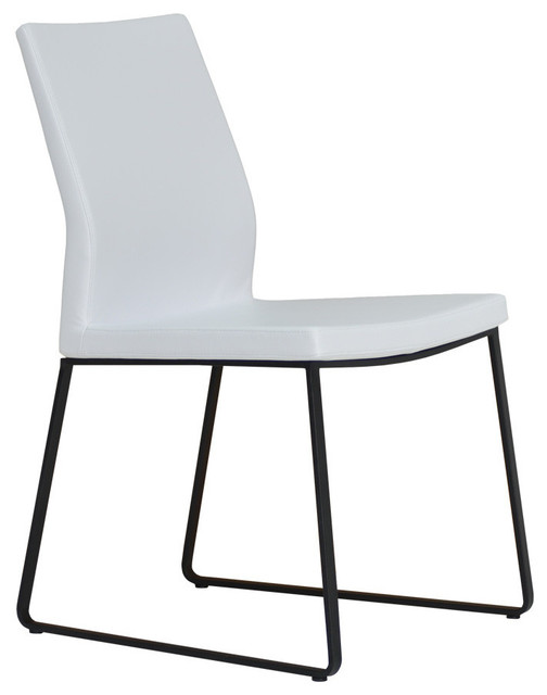 Pasha slide chair midcentury dining chairs vancouver for Modern dining chairs vancouver