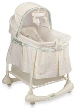 kolcraft cuddle n 39 care 2 in 1 bassinet incline sleeper in emerson modern babywiegen. Black Bedroom Furniture Sets. Home Design Ideas
