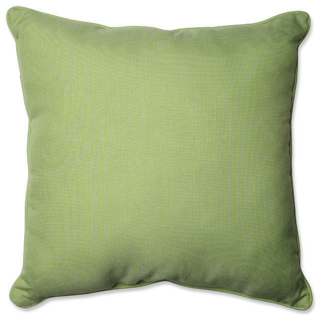 Green Floor Pillows : Tweed Gray 25