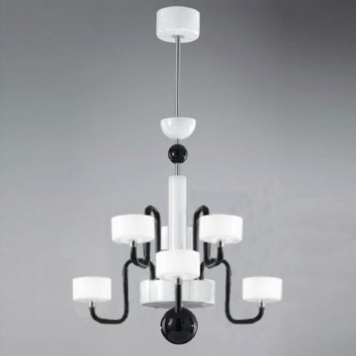 Guggenheim Six Light Chandelier Modern Chandeliers