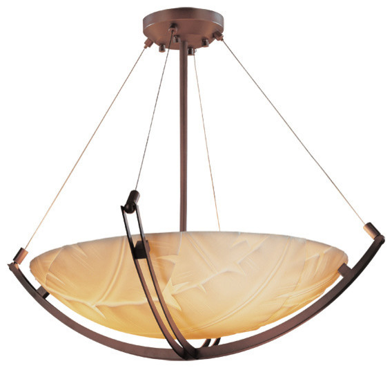 Ceiling Light Crossbar : Porcelina crossbar quot pendant bowl round