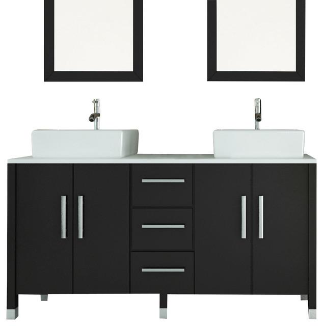Sirius Modern Bathroom Vanity With Phoenix Stone Top Modern Bathroom Vanities And Sink
