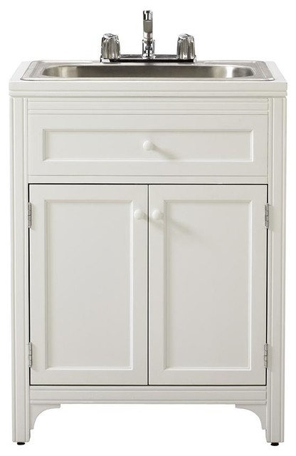 Martha Stewart Living™ Laundry Storage Utility Sink Cabinet - Traditional - Bathroom Vanities ...