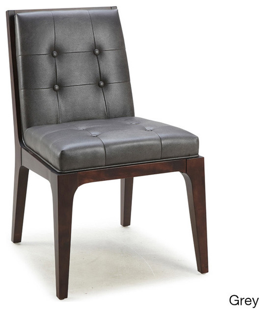 Upholstered Dining Chairs (Set of 2) - Contemporary - Dining Chairs ...