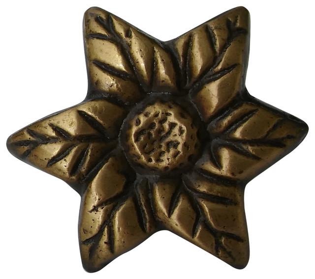 Novelty Flower Knob - Modern - Cabinet And Drawer Knobs ...