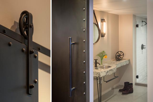 Clocktower loft industriel salle de bain san for Salle bain industriel