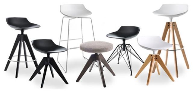 mdf italia flow stools modern barhocker barst hle. Black Bedroom Furniture Sets. Home Design Ideas