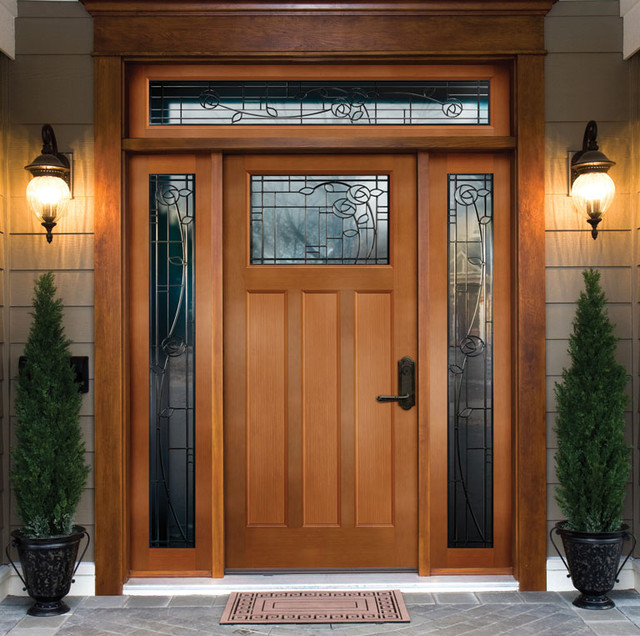 Beautiful front door ideas front doors boise by view for Beautiful wood front doors