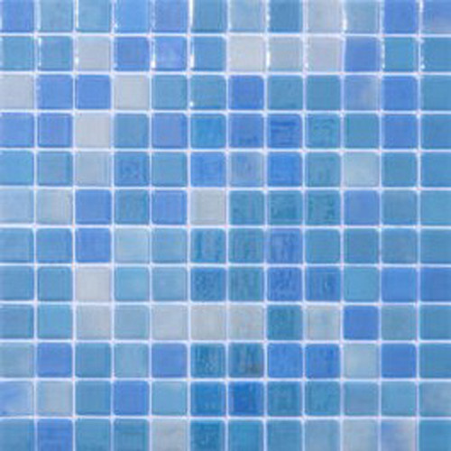 sky recycled glass tile mosaic contemporary mosaic tile